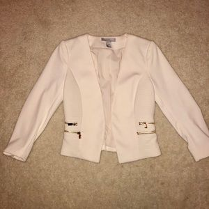 Business Woman's White Blazer Only Worn Once